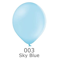 """Шар воздушный BELBAL пастель 003 Голубой Blue 12""""(30см)"""