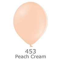 """Шар воздушный BELBAL пастель 453 Персиковый макарун Peach 12"""" (30см)"""