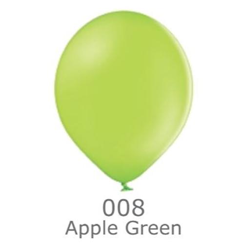 """Шар воздушный BELBAL пастель 008 Зеленое яблоко Green apple 12"""" (30см)"""