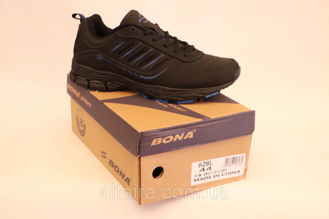 Кроссовки Bona черные мужские