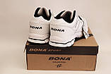 Кроссовки Bona белые мужские, фото 4