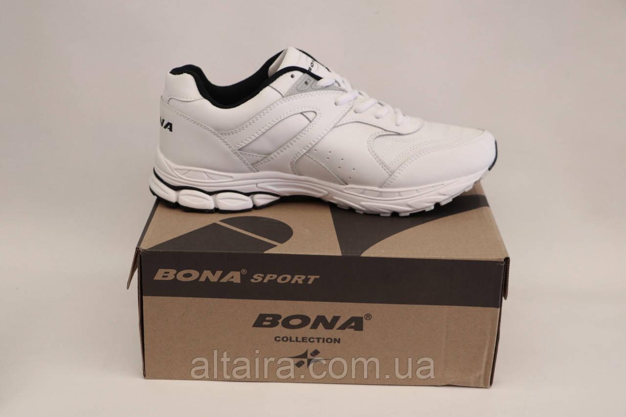 Кросівки Бона білі чоловічі