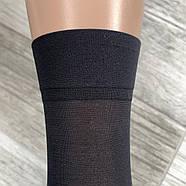 Носки женские капрон KENA с пяткой, чёрные, 1519, фото 4
