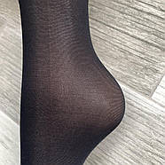 Носки женские капрон KENA с пяткой, чёрные, 1519, фото 5