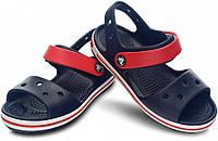 Сандалии детские Crocs Crocband Sandal синие (С) разм., фото 1