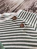 Реглани для малюків від Gеоrgе 9м полосатий, фото 3
