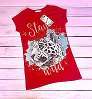 Стильная футболка для девочек подростков Размеры 140- 158 супер новинка
