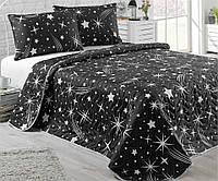 Покрывало - одеяло двухспальное Стеганое 200x220 см. с 2- мя Наволочками 50x70 см Турция