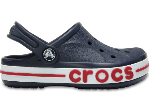 Кроксы детские Crocs Bayaband Clog синие (J) разм.