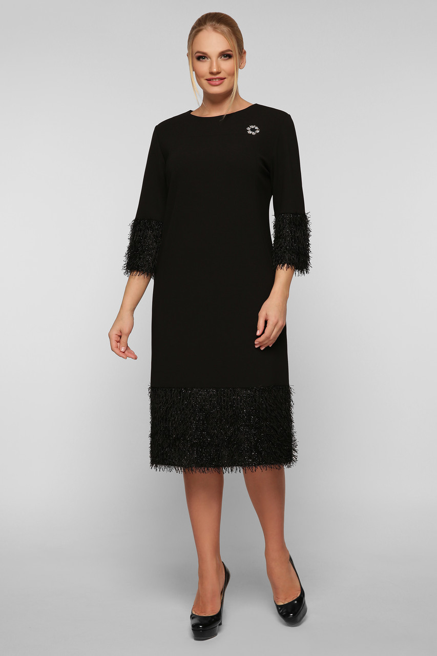 Жіноче плаття чорне Тереза