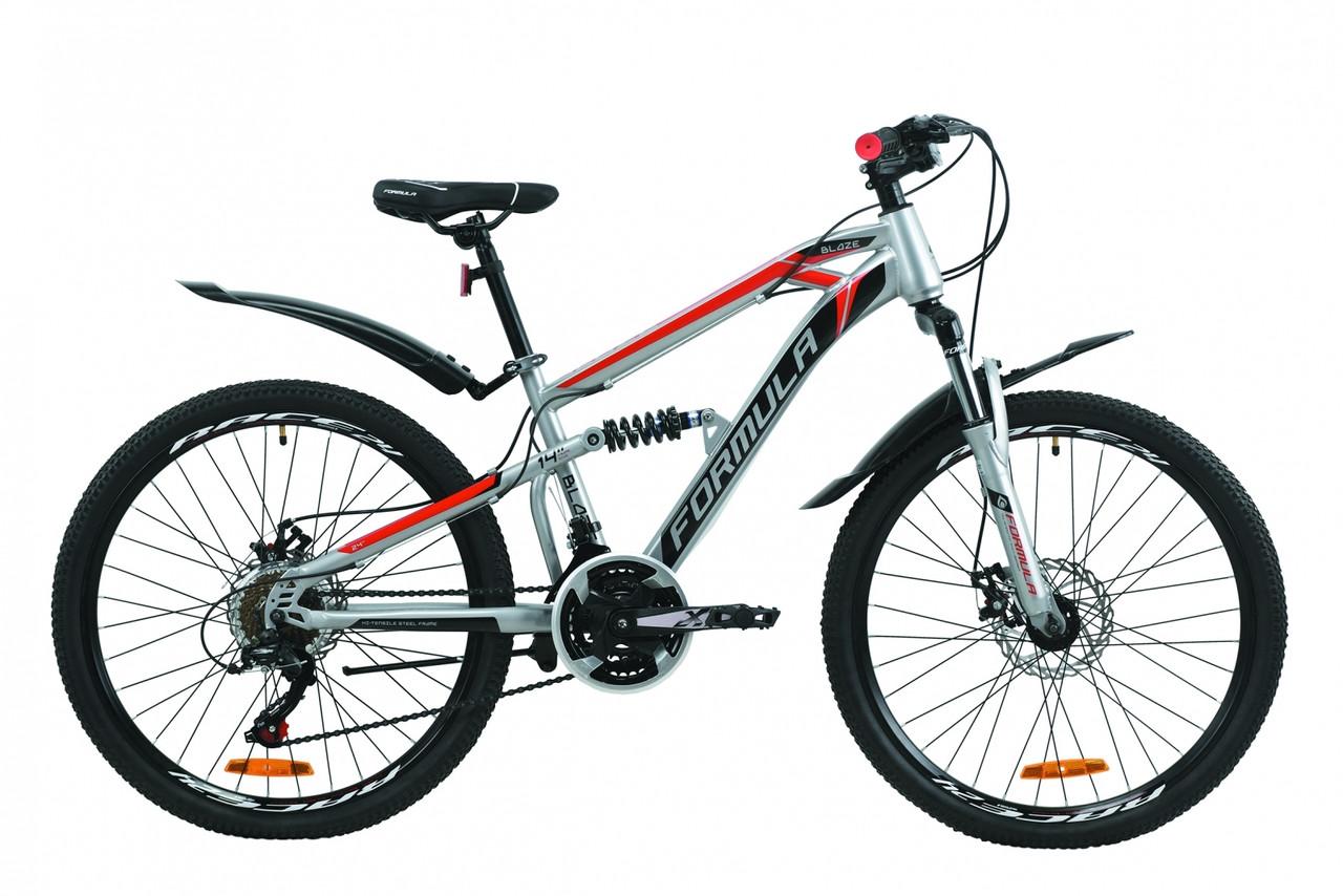 """Велосипед 24"""" Formula BLAZE с крылом Pl DD 2020 ST"""