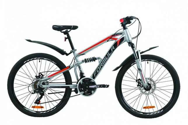 """Велосипед 24"""" Formula BLAZE с крылом Pl DD 2020 ST, фото 2"""
