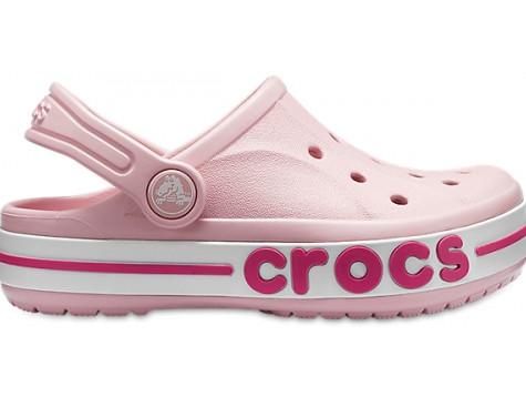 Кроксы детские Crocs Bayaband Clog розовые (С) разм.