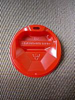 Крышка к стакану ромб 70 красная Ф175