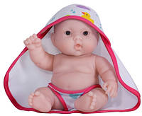 Пупс JC Toys Лулу с розовым полотенцем, 20 см БРАК УПАКОВКИ
