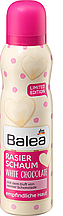 Пінка для бриття жіноча BALEA White Chocolate 150мл