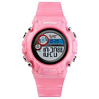 Skmei 1477 розовые детские спортивные часы, фото 1