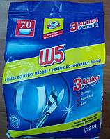 W5 порошок 3в1 для посудомоечной машины 1,26кг
