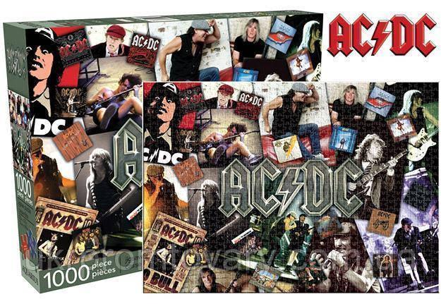 Пазл Aquarius 1000 эл музыка AC/DC AQUARIUS AC DC Collage Jigsaw Puzzle