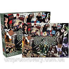 Пазл Aquarius 1000 эл музыка AC/DC AQUARIUS AC DC Collage Jigsaw Puzzle, фото 3