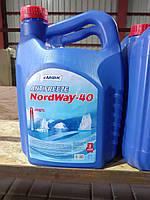 """Антифриз """"NordWay -40"""" синій 4,4кг"""
