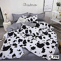 Комплект постельного белья размер СЕМЕЙНЫЙ материал - бязь черно-белый долматинец