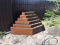 Вертикальная клумба для клубники, фото 1