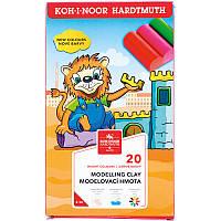 Koh-I-Noor Пластилин Львенок, 20 цветов, 01315S2001KS