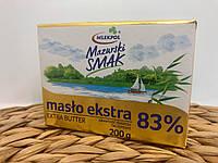 Масло Mlekpol Extra 83 % 200 г Польща
