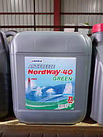 """Антифриз """"NordWay -40""""  зелений 8,8кг"""