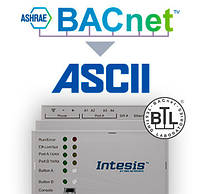 Шлюз BACnet IP & MS/TP Client to ASCII IP & Serial Server Gateway - 3000 points