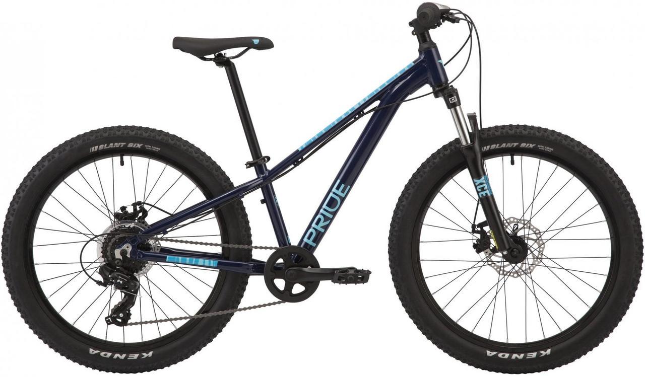 Велосипед 24'' Pride ROCCO 4.1 синій 2020
