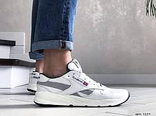 Мужские кожаные кроссовки Reebok,белые, фото 3