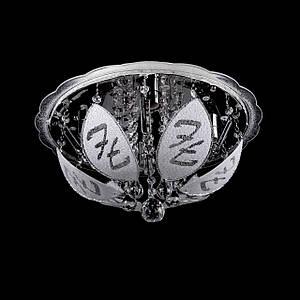 "Люстра ""торт - классика"" с подсветкой на пульте управления (4 лампочки) P5-Y1487/4+22W/"