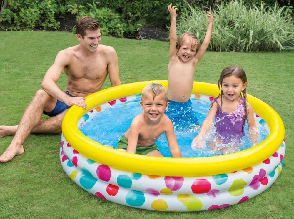 Детский надувной бассейн Intex 58449 168 см х 38 см