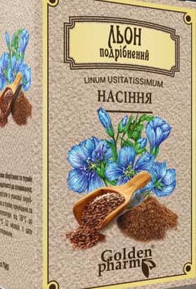 Лен шрот (семена измельченные) 100 г