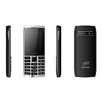 Кнопочный телефон дешевый с камерой мп3 и удобными кнопками AELion A600 Metal/Black