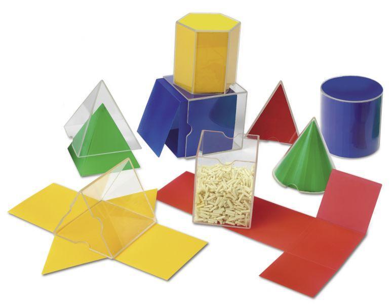 Геометричні фігури з розгорткою (набір)