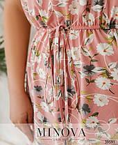 Романтичне плаття батал з мереживом, розмір від 56-58, 60-62, фото 2