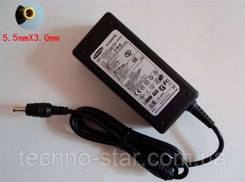 Блок живлення Samsung 19V 2.1 A 40W NoteBook NP-N110 NP-N130 NP-N140 NP-N150 NC10 NC20 N210 N220 N510