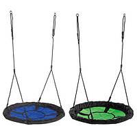 Детские подвесные качели KBT Свайби (Стальной каркас плетёные канаты)