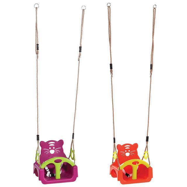 Детские подвесные качели KBT Трикс 3 варианта использования (для улицы и дома)