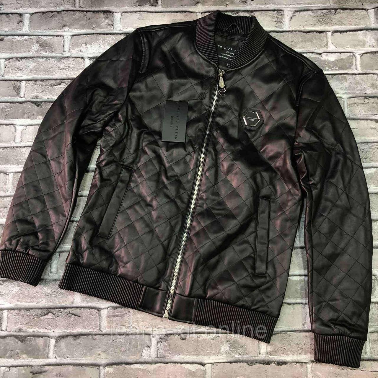 Куртка Чол. 2XL(р) чорний 209020 Philipp Plein Туреччина Весна-C
