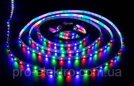 LED SMART стрічка RGB (кожен діод) AVT-01-S-shape 240RGB WS2812-5V, Led/м48, IP20, 11,5 Вт/м 1017953