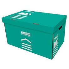 Короб для архивных боксов BUROMAX turquoise (BM.3270-06)
