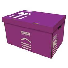 Короб для архивных боксов BUROMAX violet (BM.3270-07)