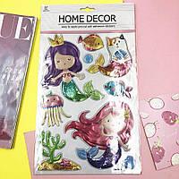 Набор декоративных наклеек Home Decor World-of-Mermaids
