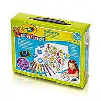 Набор для творчества Crayola с восковыми мелками, наклейки Штампы 81-1359