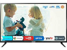"""Телевизор Romsat экран 43"""" 969х567х83 мм SMART TV 43USK1810T2 Black"""
