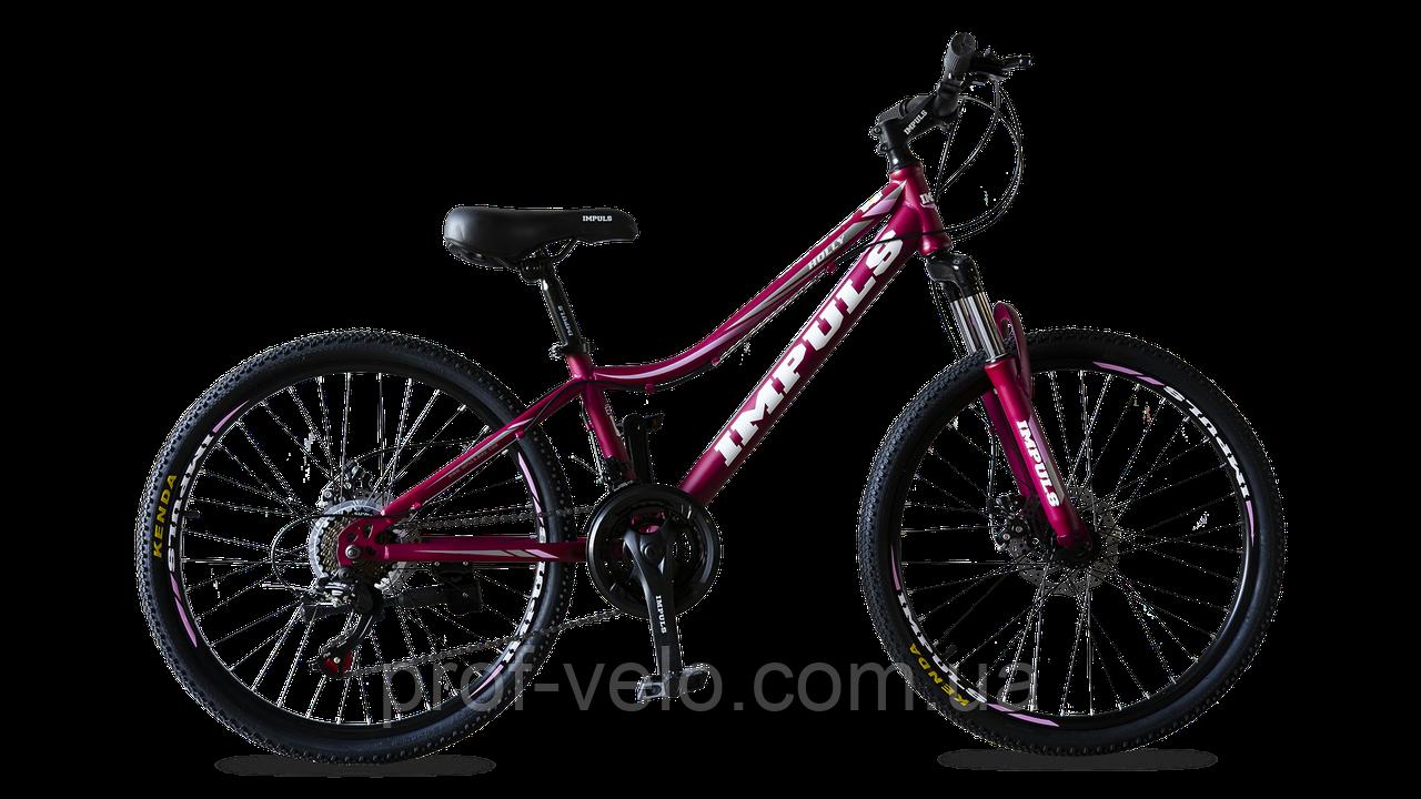 Велосипед спортивный Impuls 24 HOLLY-NEW сангрия